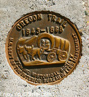 Oregon Trail Marker, Wyoming