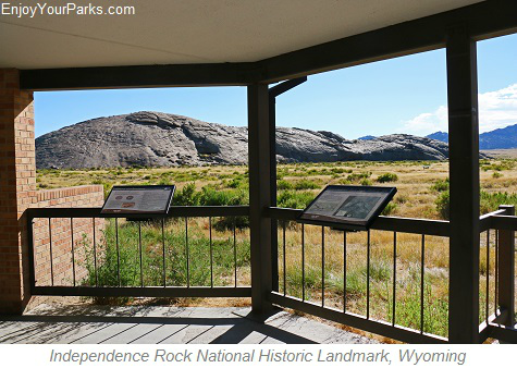 Independence Rock National Historic Landmark, Wyoming