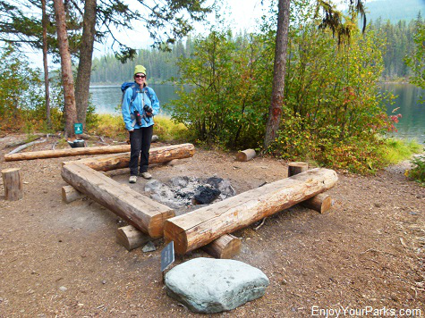 Logging Lake Campground (Foot), Glacier National Park