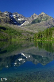 Upper Kintla Lake, Boulder Pass Trail, Glacier National Park