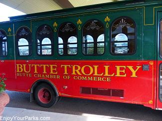 Butte Trolley Tours, Butte Montana