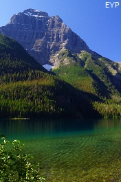 Kinnerly Peak, Upper Kintla Lake, Boulder Pass Trail, Glacier National Park