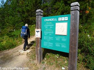 Akamina Parkway trailhead, Crandell Lake, Waterton Lakes National Park