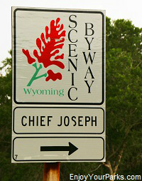 Chief Joseph Scenic Byway, Wyoming