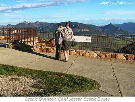 Scenic Overlook, Chief Joseph Scenic Byway, Wyoming