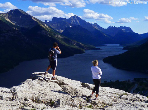 View from The Bear's Hump, Waterton Lakes National Park