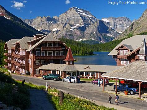 Many Glacier Hotel, Glacier National Park Montana