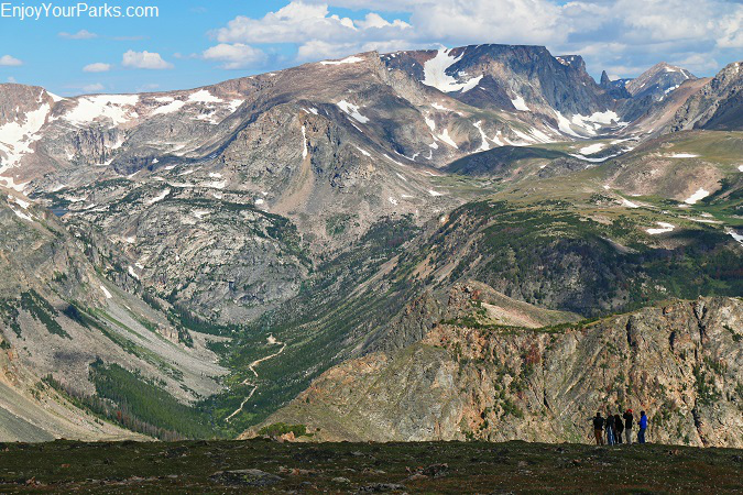 Beartooth Mountain Range Montana