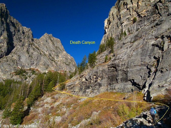 Death Canyon Trail, Grand Teton National Park