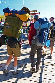 Backpackers, Waterton Lakes National Park