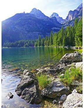 Bradley Lake, Taggart Lake Trail, Grand Teton National Park