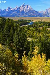 Snake River Overlook, Highway 89 Turnouts and Overlooks, Grand Teton National Park