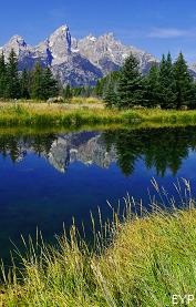 Schwabacher Landing, Highway 89 Turnouts and Overlooks, Grand Teton National Park