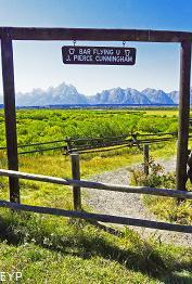 Cunningham Cabin, Highway 89 Turnouts and Overlooks, Grand Teton National Park