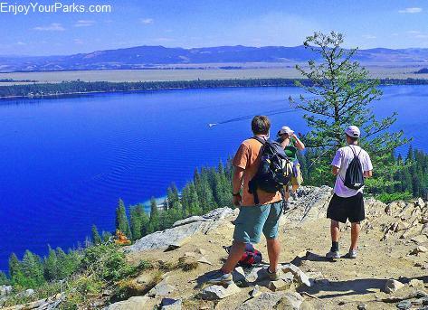 Inspiration Point, Jenny Lake, Grand Teton National Park