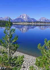 Jackson Lake, Signal Mountain Area, Grand Teton National Park
