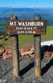 Mount Washburn, Yellowstone National Park
