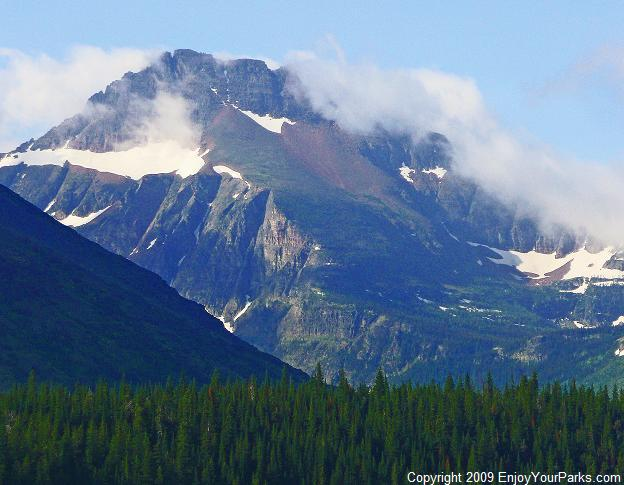 Grizzly Mountain, Glacier National Park