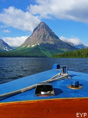 Two Medicine Boat Tour, Glacier National Park