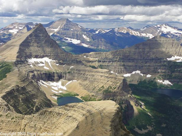 Rising Wolf Mountain, Glacier National Park