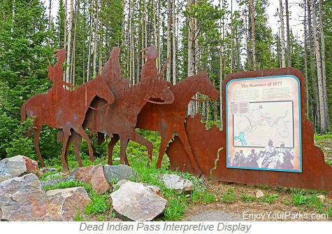 Dead Indian Pass Interpretive Display, Chief Joseph Scenic Byway, Wyoming