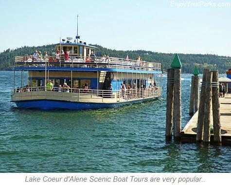 Lake Coeur d'Alene Scenic Boat Tours