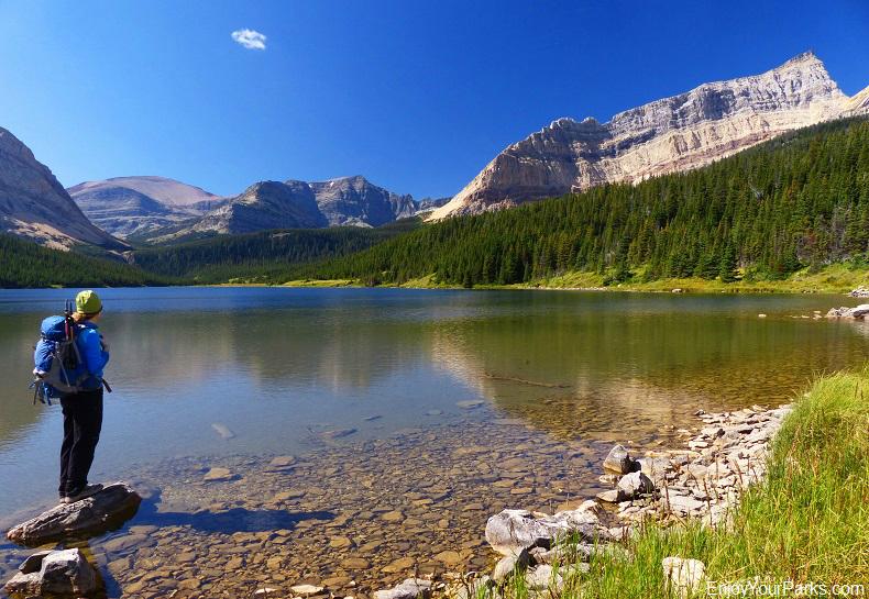 Slide Lake, Glacier National Park