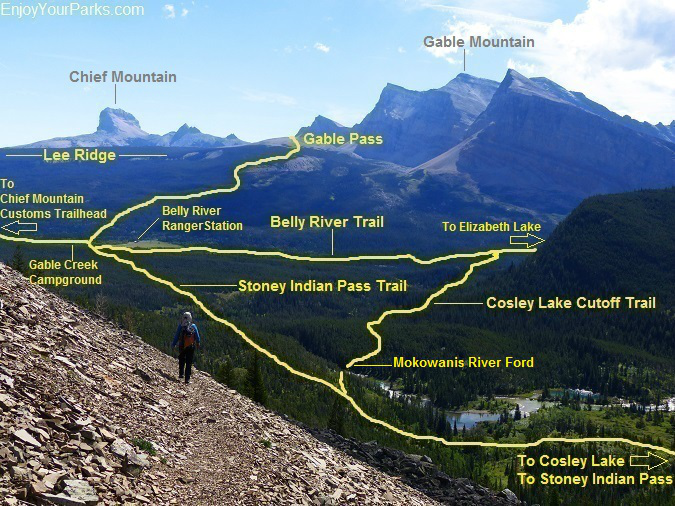 Belly River Trail, Glacier National Park