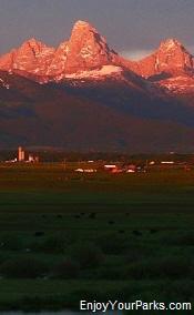 Teton Mountain Range, Teton Valley, Idaho