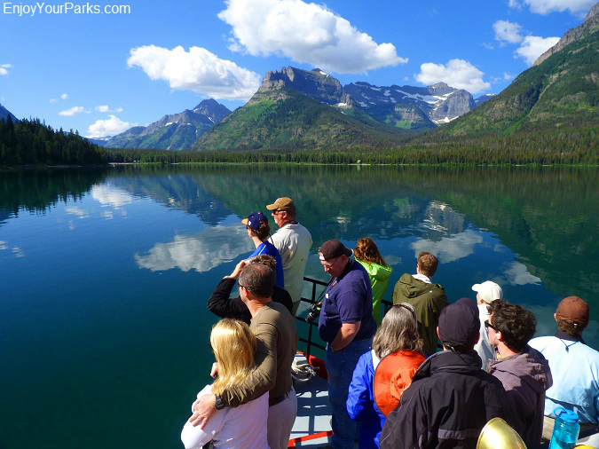 Waterton Boat Tour, Waterton Lakes National Park, Glacier National Park