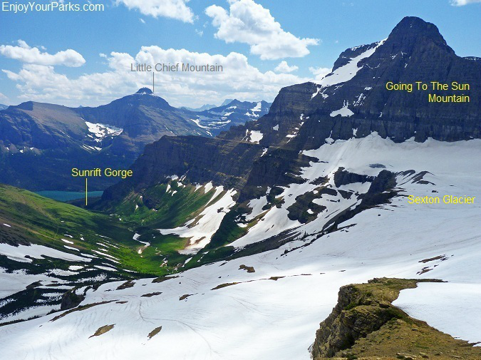 Siyeh Pass Trail, Glacier National Park