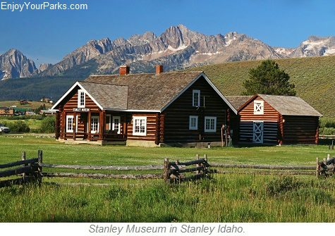 Stanley Museum in Stanley Idaho, Sawtooth Scenic Byway