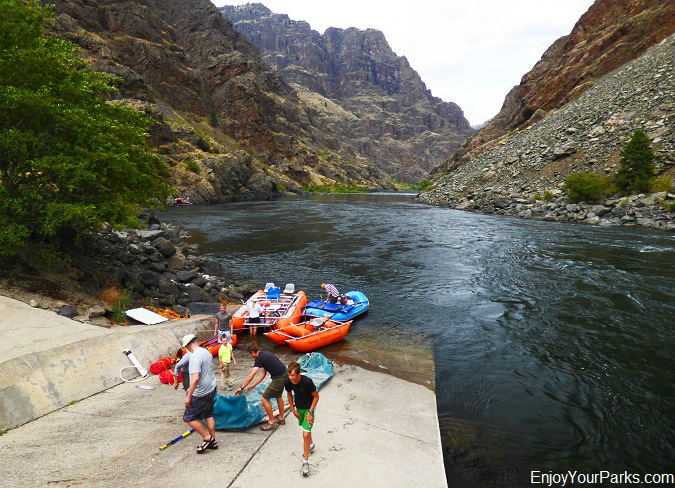 River rafters, Hells Canyon National Recreation Area