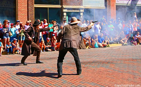 Wild West Gunfight, Deadwood South Dakota