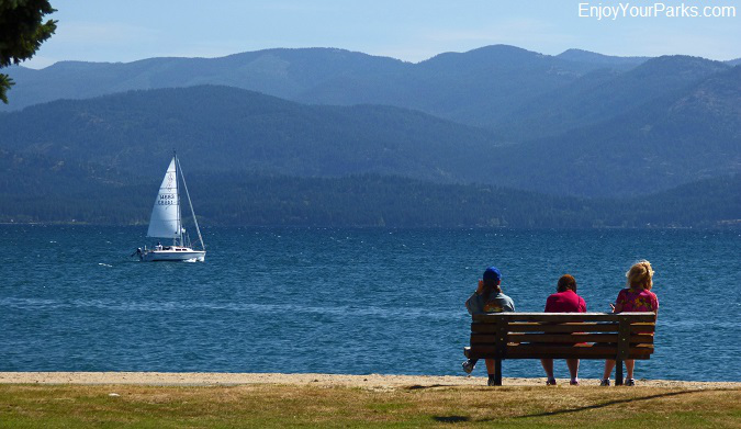 Sandpoint Idaho, Lake Pend Oreille, Idaho