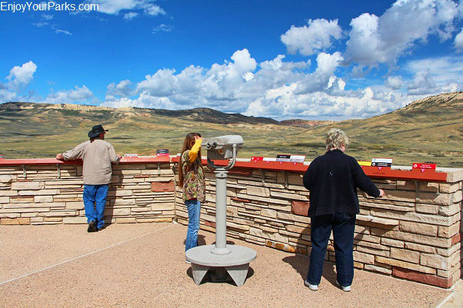 Fossil Butte Visitor Center Observation Deck