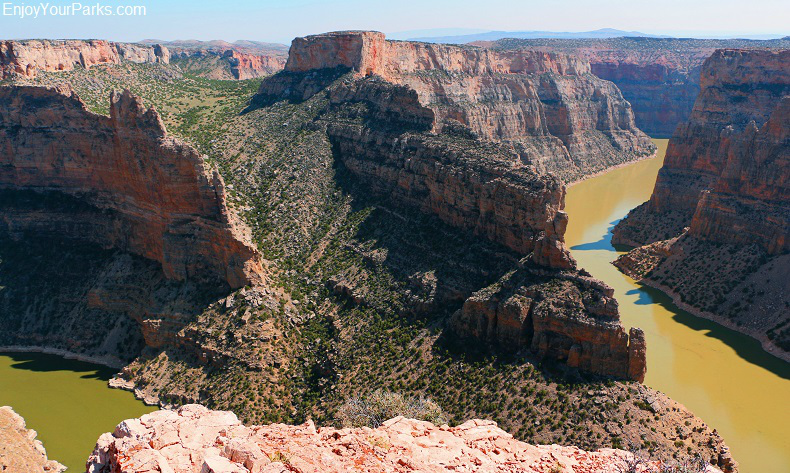 Bighorn Canyon National Recreation Area,Wyoming