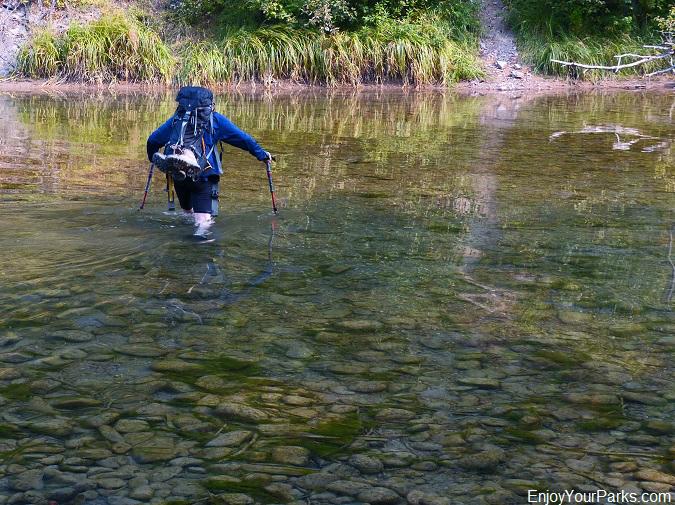 Nyack Creek, Loneman Lookout Trail, Glacier National Park