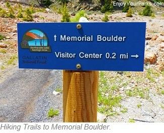 Earthquake Lake Visitor Center Trails, Montana