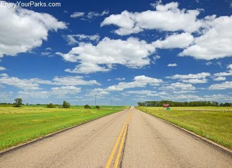Wheat field, North Dakota