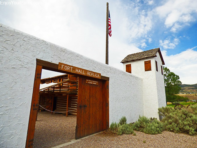Fort Hall Replica, Pocatello Idaho