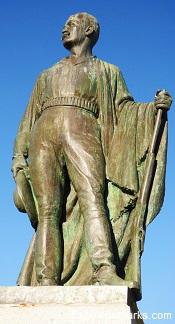 Marquis de Mores Statue, Medora North Dakota