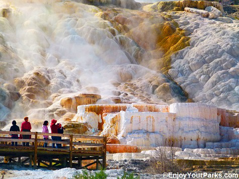 Mammoth Hot Springs, Yellowstone Park