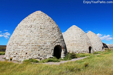 Piedment Charcoal Kilns, Fort Bridger State Historic Site, Wyoming