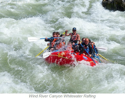 Wind River White Water Rafting, Wyoming