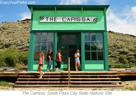 The Carissa, South Pass City State Historic Site, Wyoming