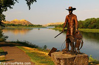 """River Walk"" Self-Guided Tour, Fort Benton Montana"