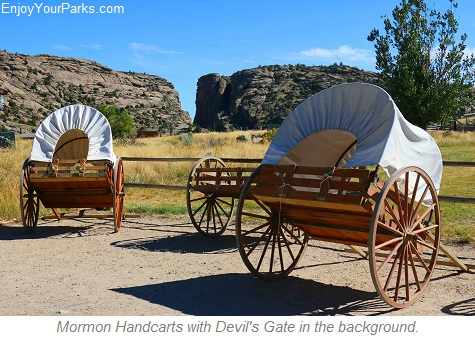 Mormon Handcart Historical Center, Wyoming