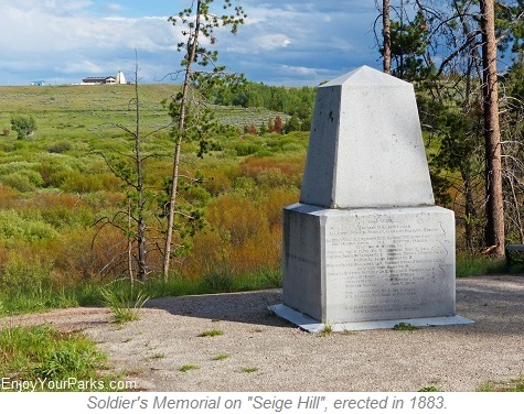 Soldier Memorial, Big Hole National Battlefield Montana