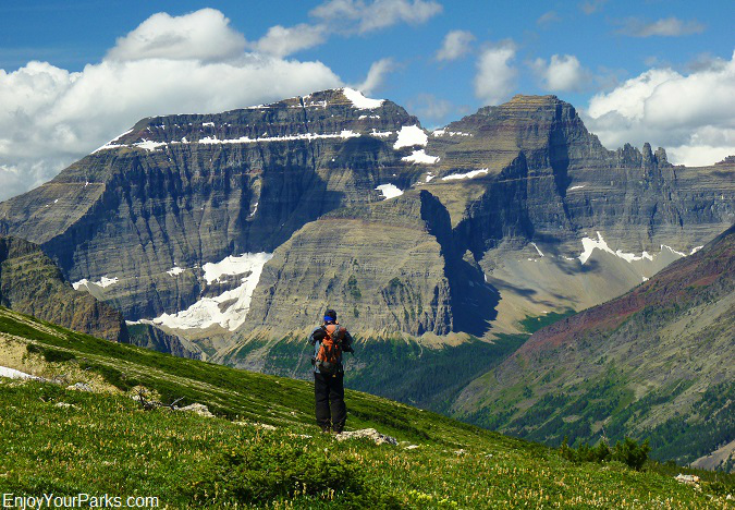 Lee Ridge with Mount Cleveland, Glacier National Park
